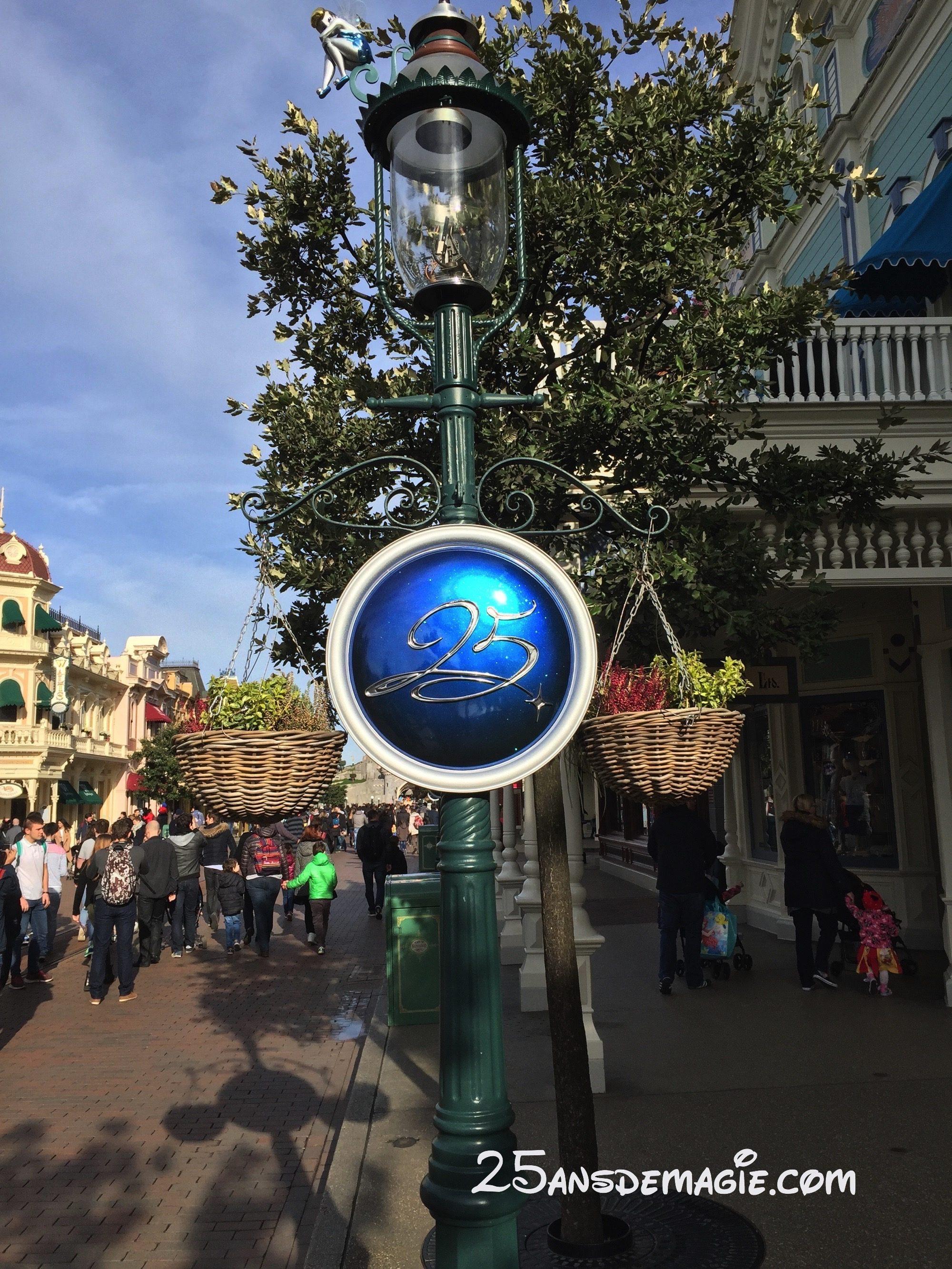 Les 25 ans de Disneyland Paris se dévoilent