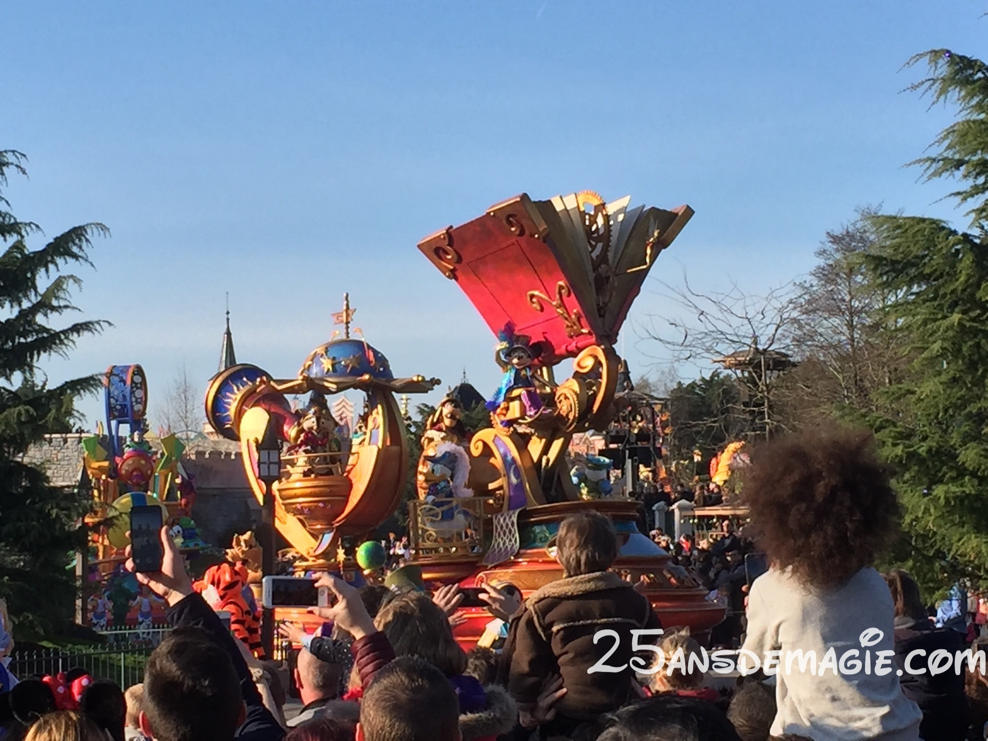 Disney Stars on Parade – une nouvelle parade pour les 25 ans